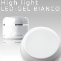 3ml High Light Gel Led Bianco French white  **MUSTERGEL