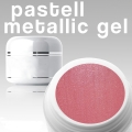 4 ml Metallic Gel** Pastell rot***NEW**