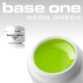 10 x 4 ml BASE ONE NEON COLORGEL**OHNE LABEL*NEON GREEN