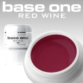 4,5 ml BASE ONE COLORGEL*RED WINE